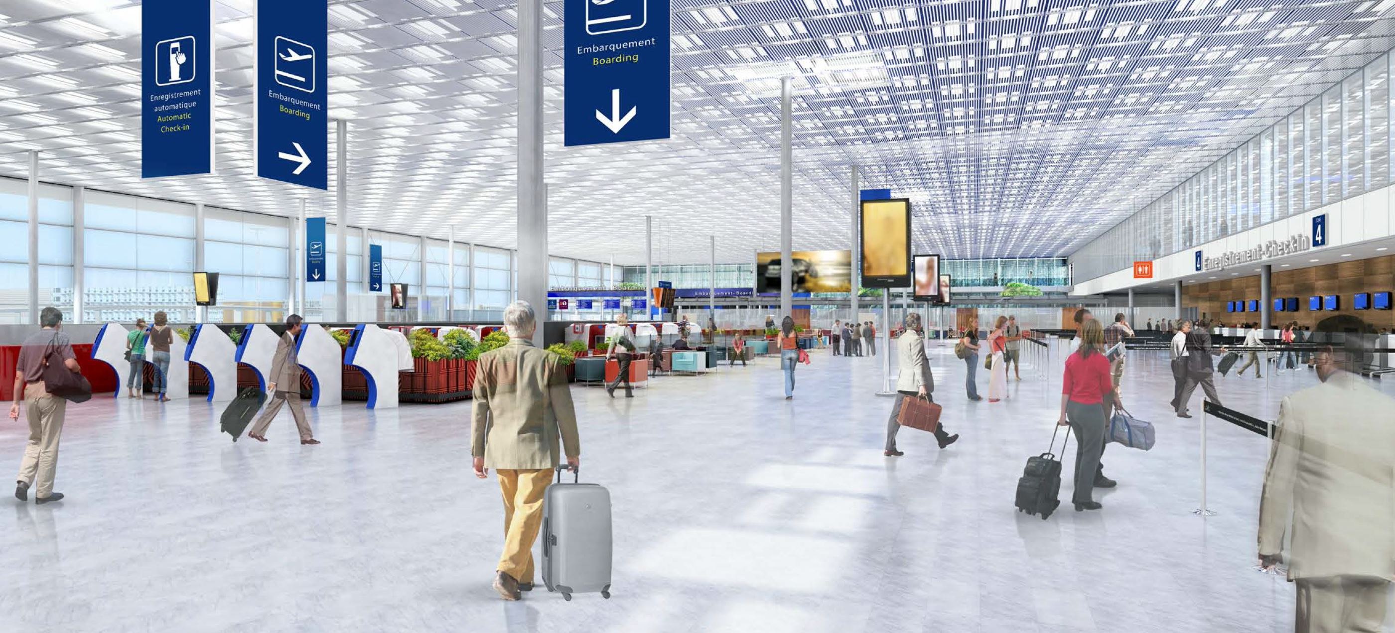 Aeroporto Orly : Map3 orly airport extension